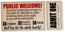 Public Welcome to School Screenings